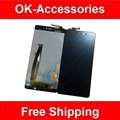 Negro color para xiaomi mi4i mi 4i lcd display + touch screen 1 pc/lot