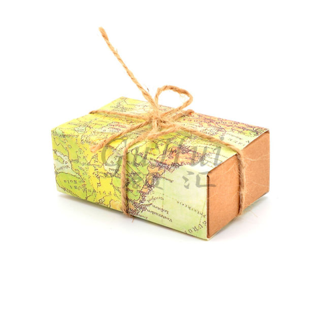 Online shop world map candy boxes drawer pull carton wrapped kraft world map candy boxes drawer pull carton wrapped kraft paper box wedding traveling theme gift bag birthday event party supplies gumiabroncs Image collections