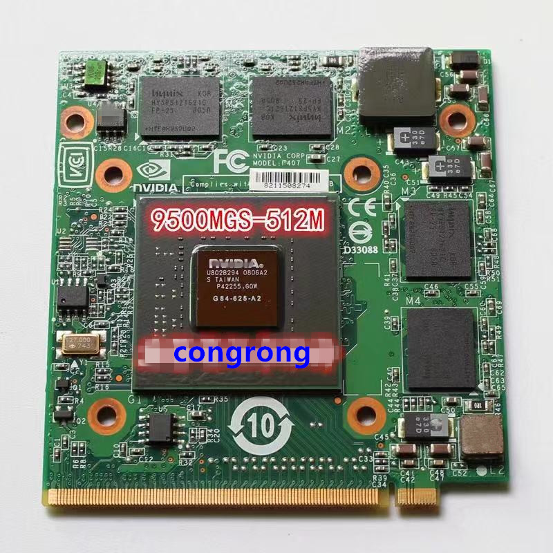 9500MGS 512MB Graphics Video Card For NVidia GeForce 9500M G84-625-A2 For Acer Aspire 4520 5520 5720 5920G 7720 6930 8920 5720G