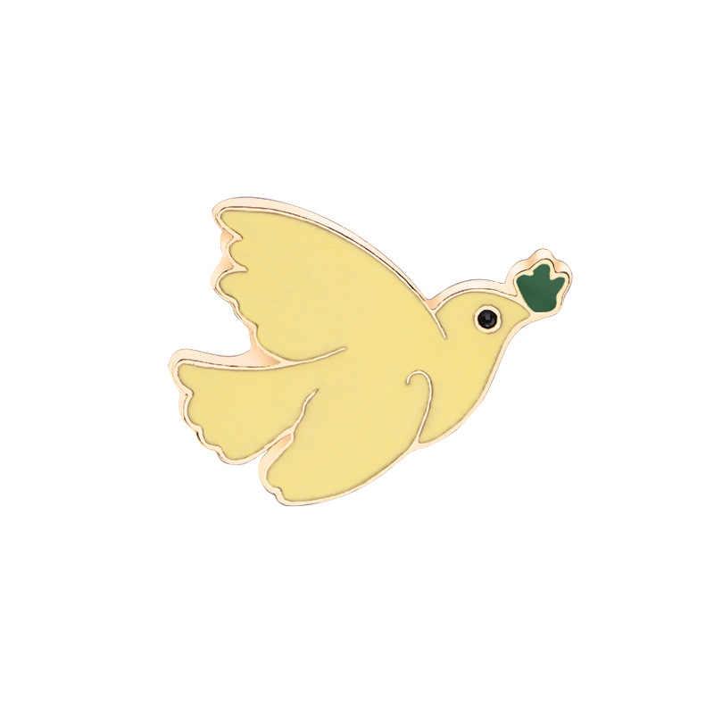 Kualitas Tinggi Kartun Kreatif Bros Hewan Lucu Burung Bros Teman Baik Hadiah Bros Grosir Bros untuk Wanita