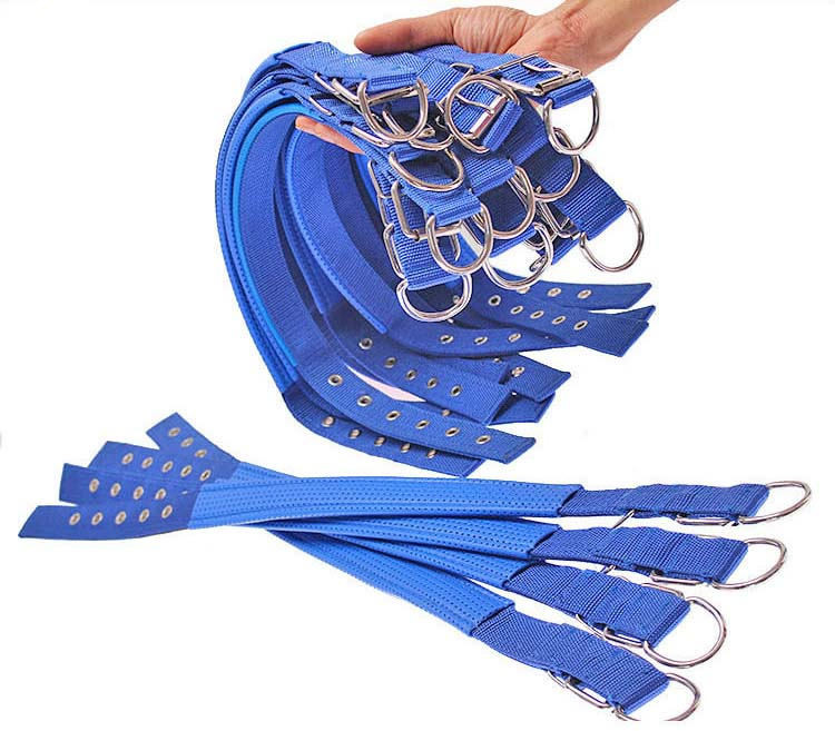 4 Color 5 Size Comfortable Adjustable Nylon Strap Dog Collar For Small And Big Pet Dogs Collars 45-70cm Length RedBuleBlackArmy Green2