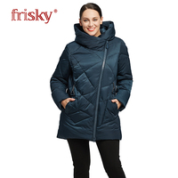 2018 Frisky Winter Jacket Women Coat Big Size Warm Down Jacket Women S Large Parkas New