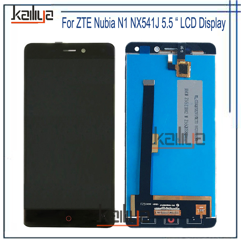 Black NEW For ZTE Nubia N1 NX541J LCD Display+Touch Screen Digitizer Assembly Replacement 5.5 inches For ZTE Nubia N1 NX541J