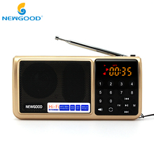 Fm-радио Портативный цифровой micro sd радио Динамик радиоприемник AUX mIRC SD USB Mp3 плеер Динамик s flash drive фонарик