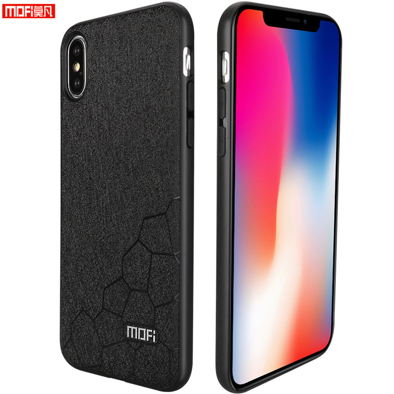 Mofi For iphone x case cover for iphone x case leather matte for iphone x case TPU ultra thin for iphone 10 case silicon 5.8
