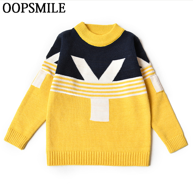 a66b4a735 Baby Girls Sweaters Winter autumn Girl Long Sleeve Knitted Clothes ...