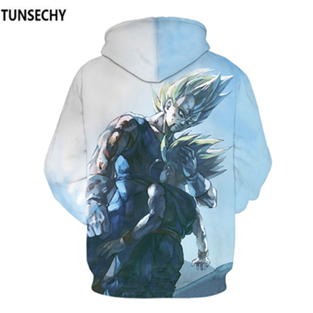 TUNSECHY Brand Dragon Ball 3D Hoodie Sweatshirts Men Women Hoodie Dragon Ball Z Anime Fashion Casual Tracksuits Boy Hooded 45