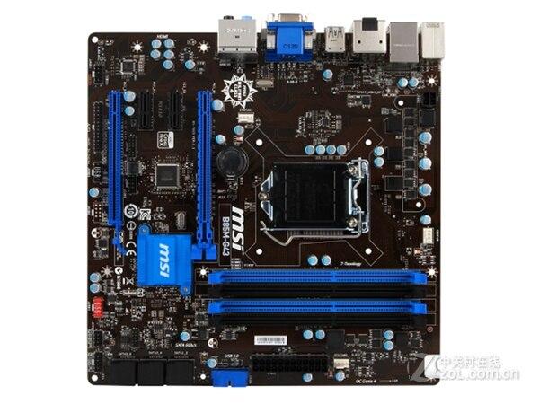 Original Motherboard MSI B85M-G43 LGA 1150 DDR3 Supports E3 1230 V3 4570  Mainboard Desktop Motherboard  Free Shipping