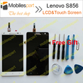 Lenovo S856 LCD Display+Touch Screen + Tools 100% Original Replacement Screen For Lenovo S856 Smartphone in Stock free shipping
