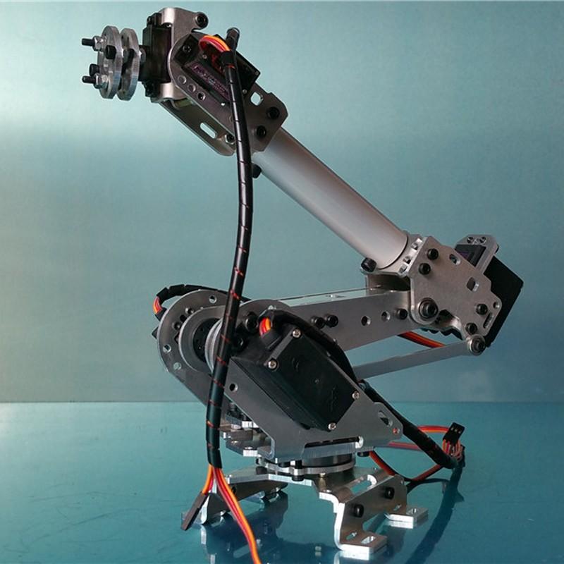 6 DOF CNC aluminum robotic arm (9)