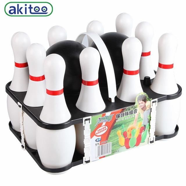 Akitoo Juguetes Para Ninos Al Aire Libre De Gran Tamano De Bolos De