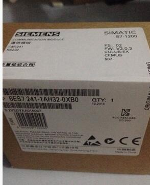 6ES7241-1AH32-0XB0 SIMATIC S7-1200 PLC Communication Module well tested working three months warranty  цены