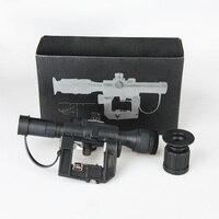1pc Hunting Optics Tactical SVD Dragunov 4x26 Red Illuminated Scope For Airsoft Gun Hunting Shooting AK