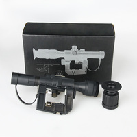 1pc Hunting Optics Tactical SVD Dragunov 4x26 Red Illuminated Scope For Airsoft Gun Hunting Shooting AK