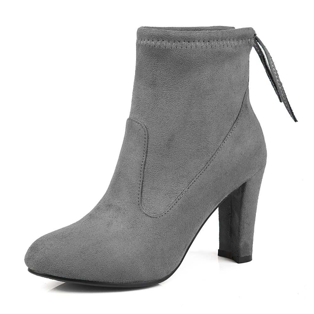 Popular Gray Ankle Boots-Buy Cheap Gray Ankle Boots lots from ...
