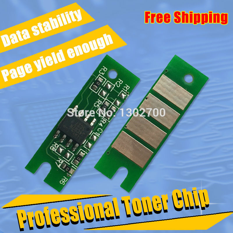 1.5K-capacity 408010 SP 150HE sp150he Toner Cartridge Chip For Ricoh sp 150 150SU 150w 150SUw sp150su printer power refill reset поло babista klingel цвет розовый