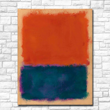 Large Size Wall Pictures For Living Room Abstract Mark Rothko untitled Painting On Canvas Art Home Decor Modern Oil