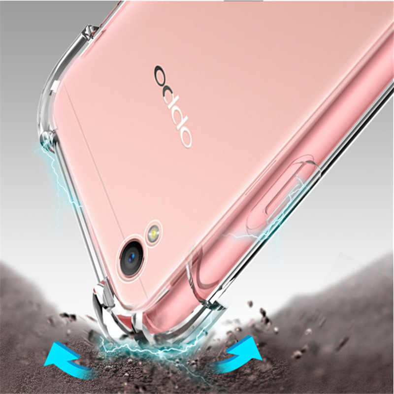 d2f87f5e74 Realme 2 Cases for OPPO Realme 1 2 Case Transparent Soft Clear Airbag  Anti-shock