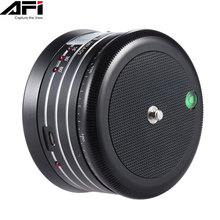AFI MRA01 Professional 360 Degree Metal Electric Panorama Head Ball with Remote Control for GoPro Action Camera Smartphone