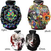 ZOGAA 2019 New Streetwear 3D Hoodie Gothic  Sweatshirt Men Leisure 6 Color Mens Hoodies Goku Plus Size S-5XL hoodie