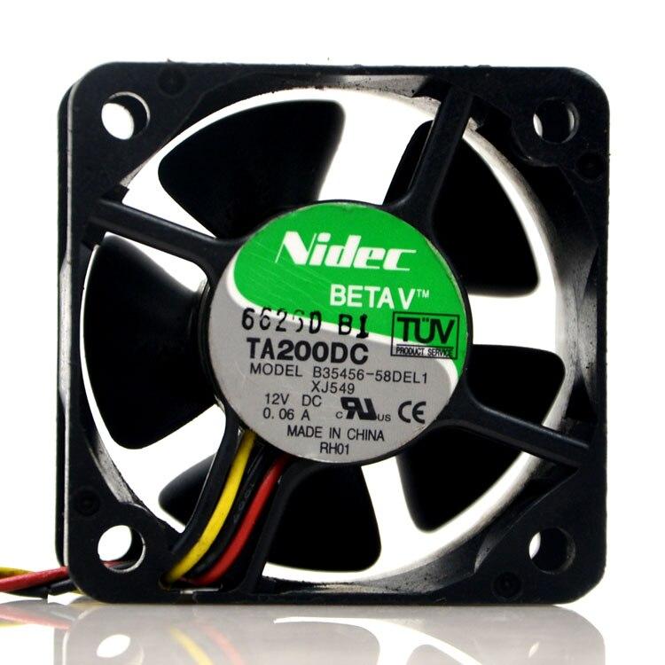 Новый оригинальный B35456-58DEL1 5028 12V 0.06A 5 см/см ультра-тихий вентилятор охлаждения