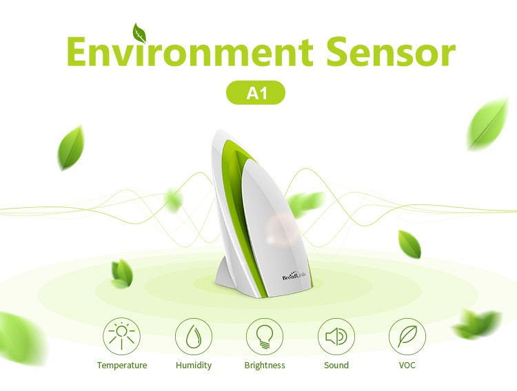 A1 E-Air Smart Remote Control Quality Detector Filter Testing Air Humidity PM2.5