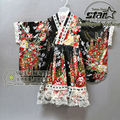 Girls Summer Lolita Dress Chiffon Lace Medieval Gothic Dress Princess Cosplay Japanese Kimono Dress Fancy Costumes For Girl