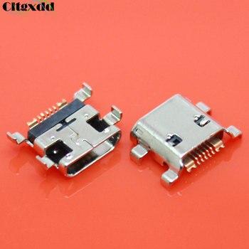 Conector Micro USB cltgxdd para Samsung Galaxy Ace 2 S3 I8160 I8190 S7562 S7562i S7568 de 7 pines, conector hembra USB, puerto de carga