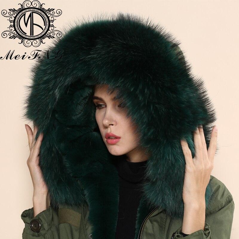 Avec Nouvelle Pour Manteau Fourrure De Beau Vert Femmes Laveur Mode 2015 Raton Haute Capot Qualité Les xwRf8Ttq