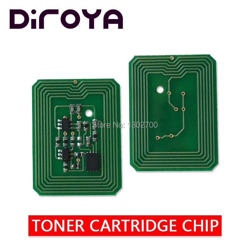 8PCS 200 100225 200 100222 200 100223 200 100224 toner cartridge chip For xante ilumina 502