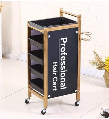 Купить с кэшбэком Beauty cart, hair salon, perm and dye cart, hair salon tool cart, barbershop trolley, tool cabinet.