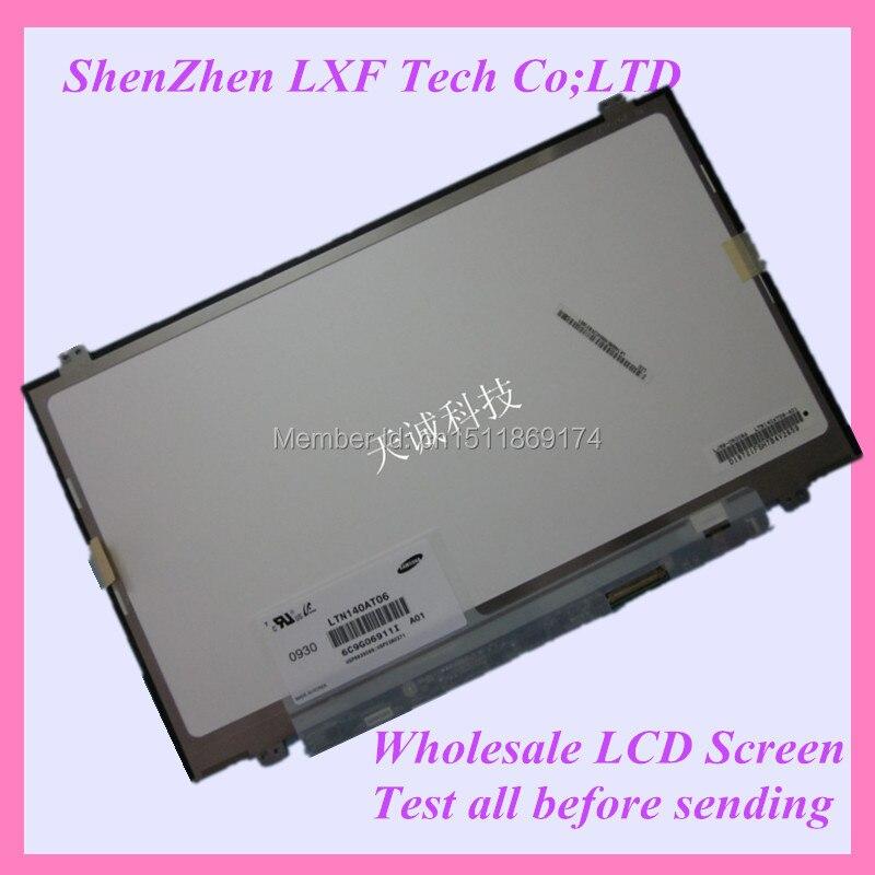 ФОТО 14'' Slim led screen LP140WH2 LTN140AT06 B140XW02 V.1 LTN140AT20 B140XW03 V.0 N140B6-L06