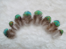 Rare Feathers! 100pcs/Lot Approx 4-6cm  Nature PEACOCK BODY PLUMAGE FEATHERS,Loose Peacock Feathers for Jewelry Making