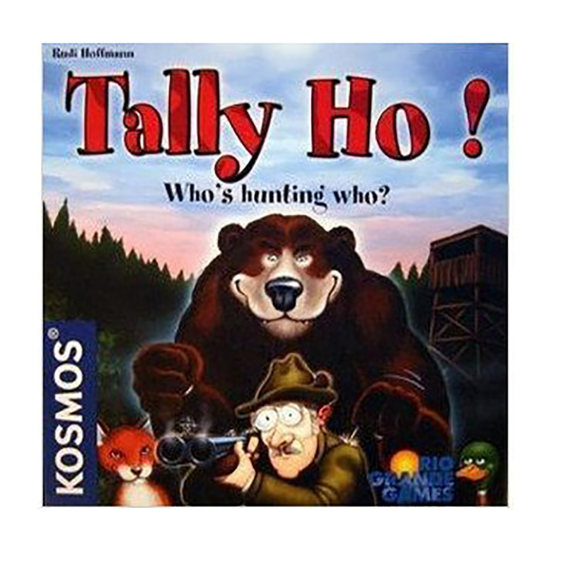 Tally Ho! Card Game 2 Players Party Board Games Easy To Play,English Edition Funny Game Free Shipping