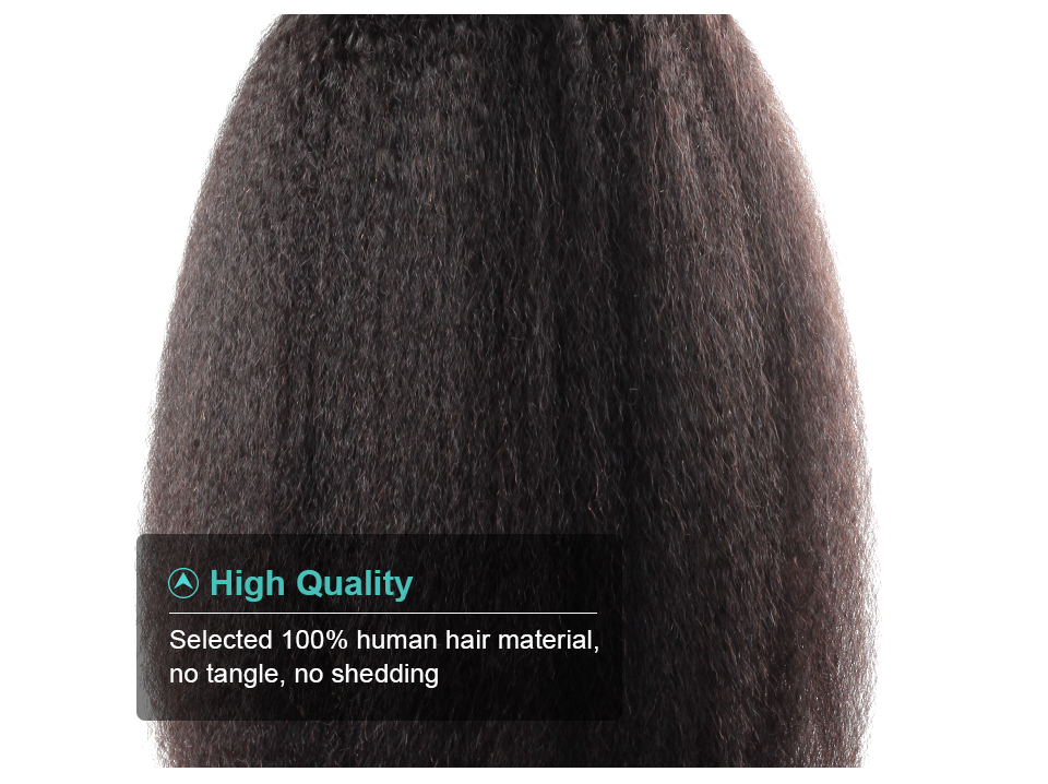 Allove yaki straight human hair lace front wigs (9)