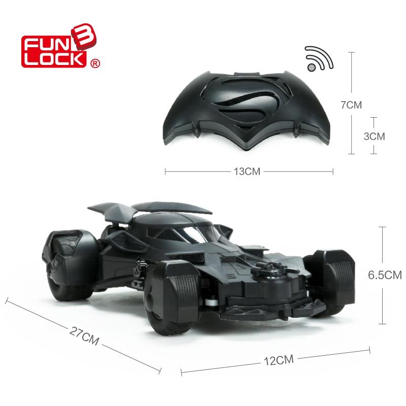 Batman VS Superman Remote Radio Control Motion-Sensing RC Car Battery Operated 4wd Toys For Boys Free Aliexpress Stdr Shipping