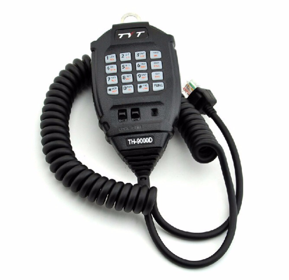 Original TYT Microphone For TH-9000 TH-9000D Mobile Radio  Car Kit Mic Speaker For TH9000D Mobile Radio Use Handheld Microphone