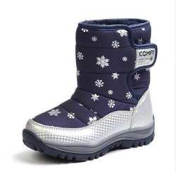 Брендовая детская зимняя обувь 2018 новые детские зимние сапоги детские теплые кроссовки для девочек зимние сапоги для девочек Зимние