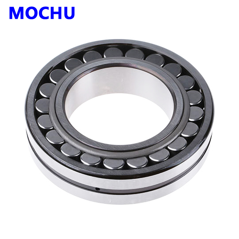 1pcs MOCHU 22220 22220E 22220 E 100x180x46 Double Row Spherical Roller Bearings Self-aligning Cylindrical Bore 1pcs 29256 280x380x60 9039256 mochu spherical roller thrust bearings axial spherical roller bearings straight bore