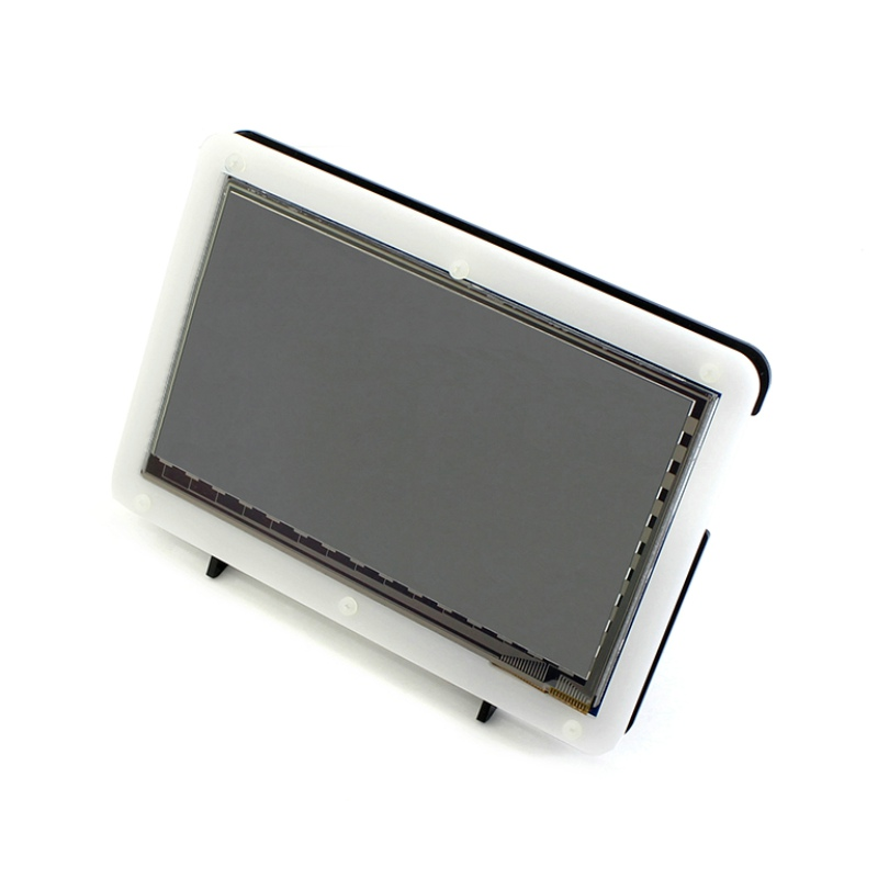 RPI 3 7inch HDMI LCD Display with Acrylic Case 1024*600 Capacitive Touch Screen for Raspberry Pi 2 BB Black Banana Pi/Pro