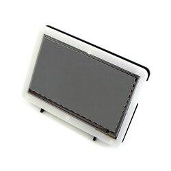 RPI 3 7 дюймов HDMI ЖК-дисплей с акриловым чехлом 1024*600 емкостный сенсорный экран для Raspberry Pi 2 BB Черный Банан Pi/Pro