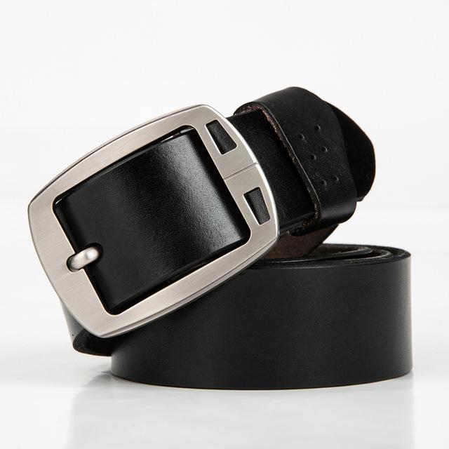 2016 homens cinto de couro genuíno cinta masculina de luxo para homens cintos de fivela fantasia do vintage jeans cintos ceinture homme masculinos