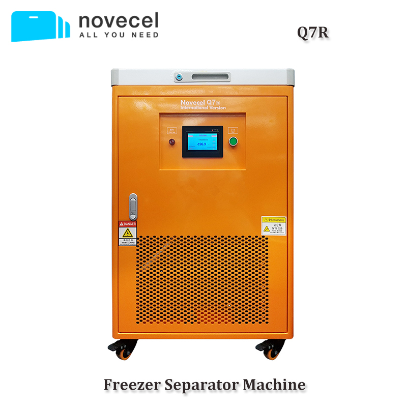 Novecel Q7R 220V 60hz -185 Degree LCD Screen Freezer Separator For Samsung Edge OLED Glass Separating Repair Replacement