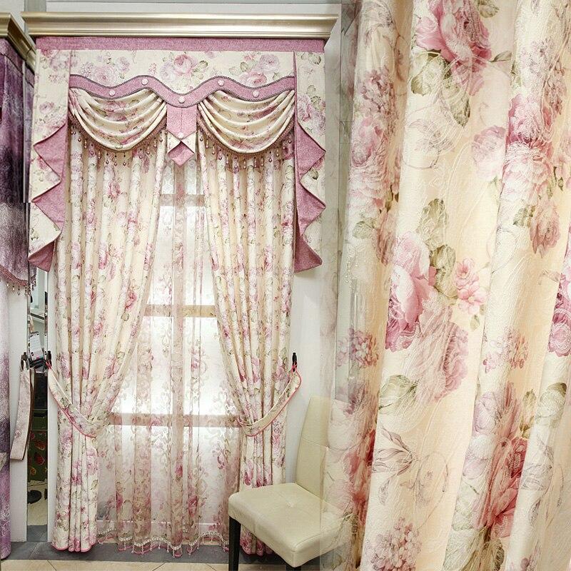 2018 Neue Vorhänge Für Esszimmer Wohnzimmer Schlafzimmer Zimmer Koreanische  Rural Heiratete Die Moderne Fenster Schattierung Tuch
