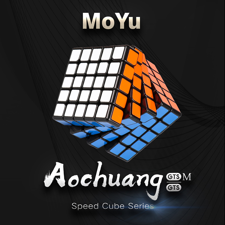 Moyu Aochuang GTS 5 M and 5x5x5 GTS Magnetic Cube Professional GTS5 M 5x5 Magic Speed Cube Twist Educational Toys for Children
