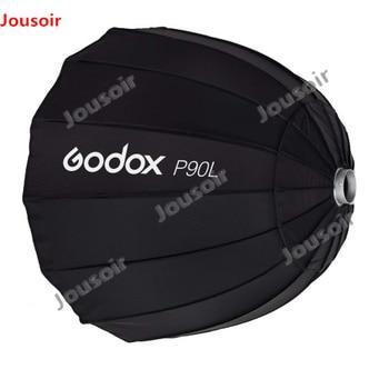 "Godox P90L 90CM 35"" Deep Parabolic Bowens Mount Portable Softbox for Studio Flash Speedlite Reflector Photo Softbox CD05 LB1 Y"