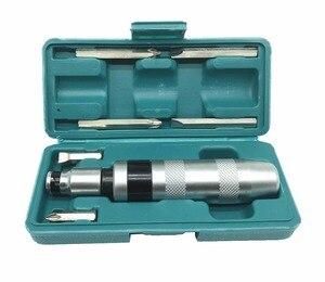 Image 1 - Chave de fenda portátil profissional do motorista do impacto de 7 pces para afrouxar parafusos congelados e fixadores teimosos com punho antiderrapante