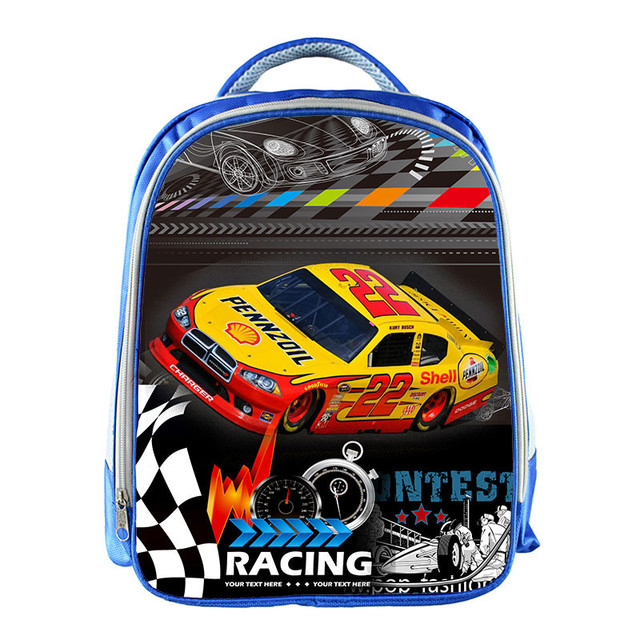 Cool Racing Car School Bags For Girls Boys Children Aircraft Rucksack Book Bag Helicopter Kids Baby