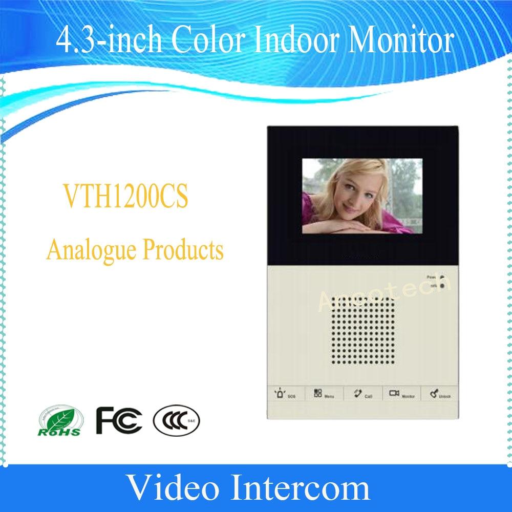 Free Shipping DAHUA 4.3inches Color Indoor Monitor Original English Version without Logo VTH1200CS недорго, оригинальная цена
