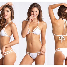 цены 2019 Sexy Bikini Swimwear Women Push Up Swimsuit Bandage cupshe bikini Set Brazilian Summer Beach Bathing Suits female Biquini